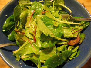 first-salad-of-spring