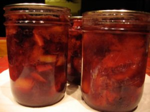 cherry-and-peach-compote